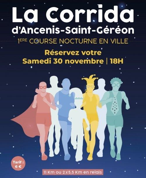 You are currently viewing 1ère course nocturne en ville le 30 novembre 2019