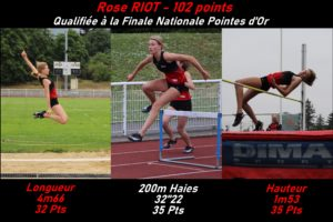 Read more about the article Trois athlètes vers les France !